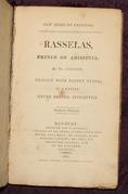 Rasselas, Prince of Abyssinia