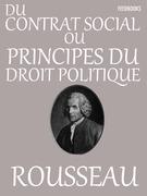 Du contrat social ou Principes du droit politique
