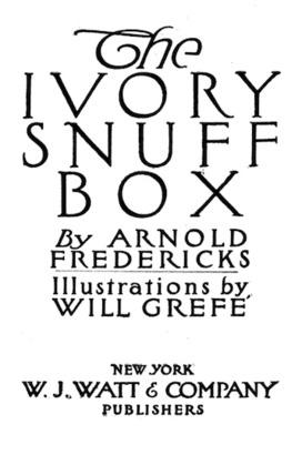 The Ivory Snuff Box
