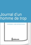 Journal dun homme de trop