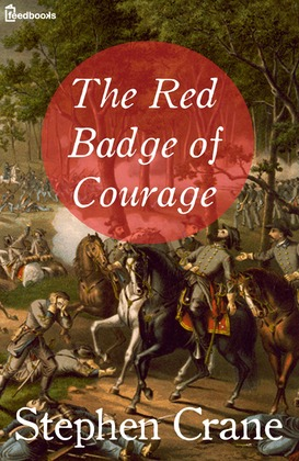 In The Red Badge of Courage, how is Naturalism presented?