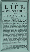 The Life, Adventures & Piracies of the Famous Captain Singleton
