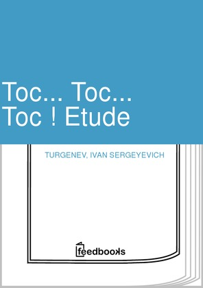Toc... Toc... Toc ! Etude