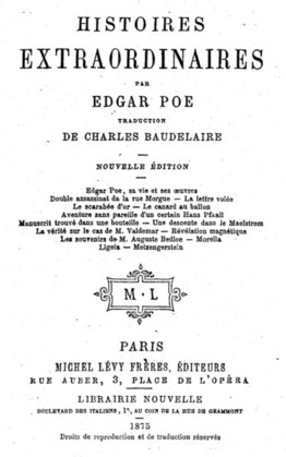Souvenirs de M. Auguste Bedloe 