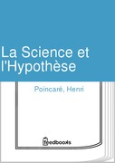 La Science et l'Hypothse
