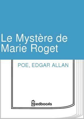 Le Mystère de Marie Roget