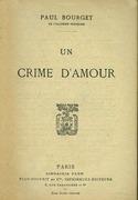 UN CRIME D'AMOUR