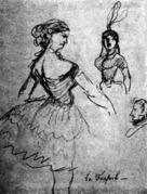 La fanfarlo e Il giovane incantatore : storia tratta da un palinsesto di Pompei