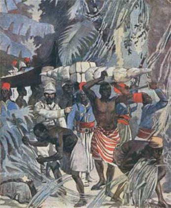 In Egitto; la caccia della jena