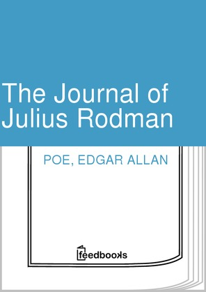 The Journal of Julius Rodman