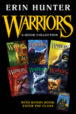 Warriors 6-Book Collection with Bonus Book: Enter the Clans