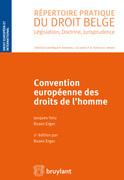 Convention européenne des droits de l'homme