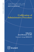 Codification of Administrative Procedure