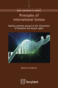Principles of international biolaw