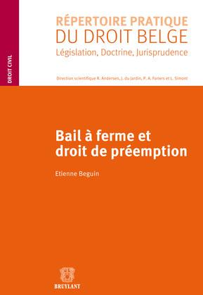 Bail à ferme et droit de préemption