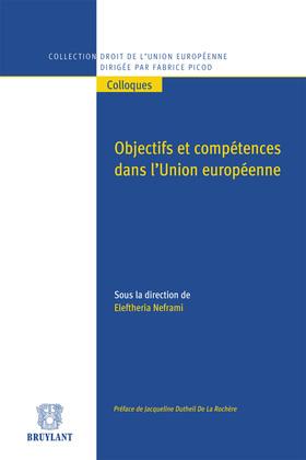 Objectifs et compétences dans l'Union européenne