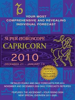 Capricorn (Super Horoscopes 2012)