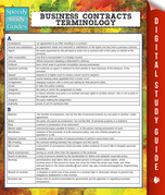 Business Contracts Terminology (Speedy Study Guide)