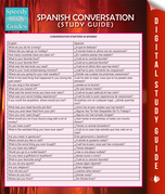Spanish Conversation (Speedy Language Study Guide)