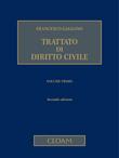 Trattato di diritto civile Vol. I