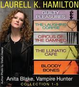 Anita Blake, Vampire Hunter Collection 1-5