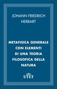 Metafisica generale con elementi di una teoria filosofica della natura
