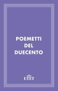 Poemetti del Duecento