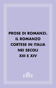 Prose di romanzi. Il romanzo cortese in Italia nei secoli XIII e XIV