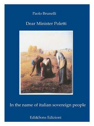 Dear Minister Poletti