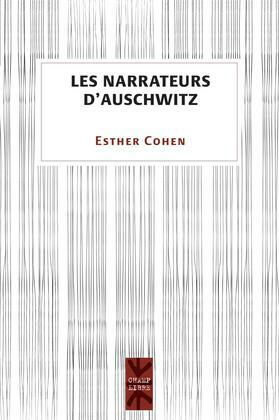 Les narrateurs d'Auschwitz