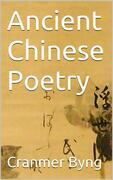 Ancient chinese poetry