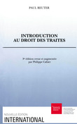 Introduction au droit des traités