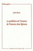 Le problème de l'essence de l'homme chez Spinoza