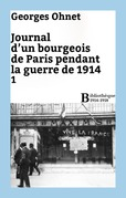 Journal d'un bourgeois de Paris pendant la guerre de 1914 - 1
