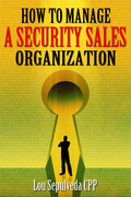 How To Manage A Security Sales Organization