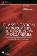 Classification des documents numériques dans les organismes