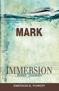 Immersion Bible Studies - Mark