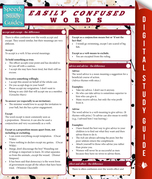 Easily Confused Words: Speedy Quick Study Guide
