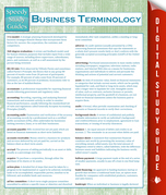Business Terminology (Speedy Study Guides)