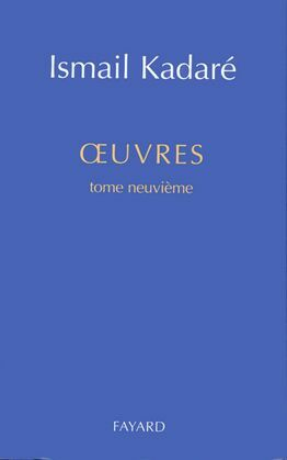 Oeuvres complètes: tome 9