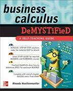 Business Calculus Demystified