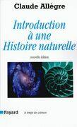 Introduction à une histoire naturelle: Nouvelle édition