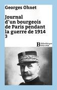 Journal d'un bourgeois de Paris pendant la guerre de 1914 - 3
