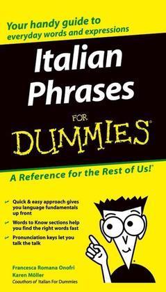 Italian Phrases For Dummies