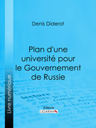 Plan d'une université pour le Gouvernement de Russie