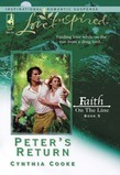 Peter's Return (Mills & Boon Love Inspired) (Faith on the Line, Book 5)