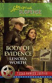 Body of Evidence (Mills & Boon Love Inspired) (Texas Ranger Justice, Book 2)