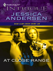 At Close Range (Mills & Boon Intrigue) (Bear Claw Creek Crime Lab, Book 2)