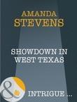 Showdown in West Texas (Mills & Boon Intrigue)