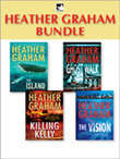 Heather Graham Bundle: The Island / Ghost Walk / Killing Kelly / The Vision (Mills & Boon M&B)